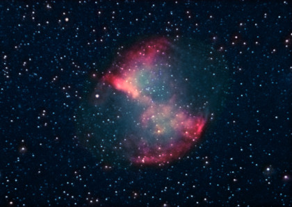 M27 (Dumbbell Nebula) - Color