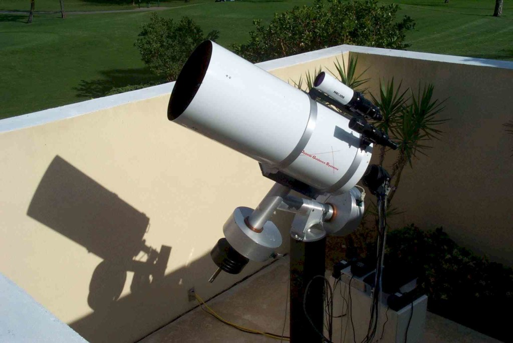 "Optical Guidance Systems 12 1/2 "" Ritchey-Chretien telescope"